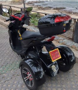 Power Wheelchair Light-weight Electric Heavy-Duty compact Folding Mobility D09