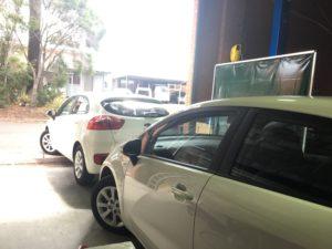 Kia Rio learner vehicles