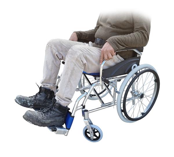 Heavy duty lightweight pushchair wheelchair