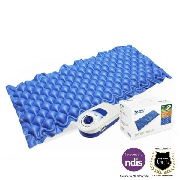 Air Overlay Mattress for Single bed Alternating Pressure Pump