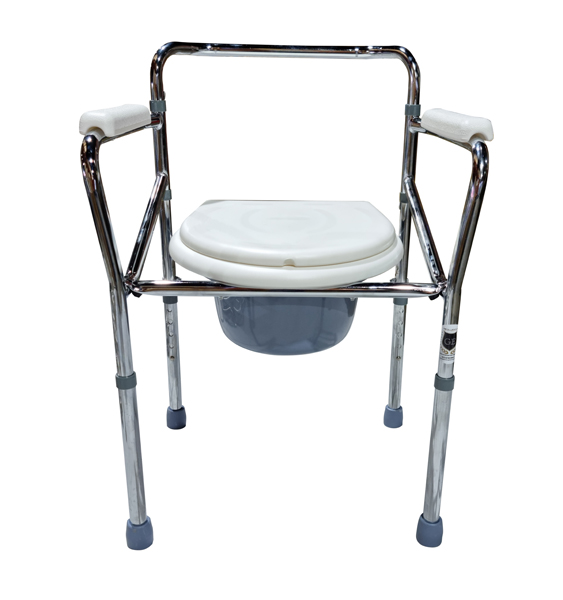 Over Toilet Aid Commode Chair with Toilet Seat