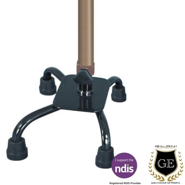 4 Pod Walking Stick For Maximum Stability