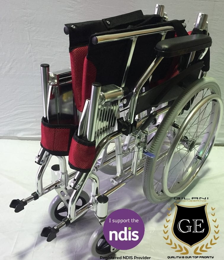 Light Weight Aluminium Wheelchair Folding