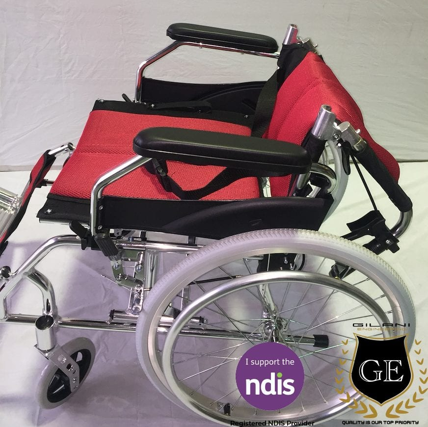 Light Weight Aluminium Wheelchair