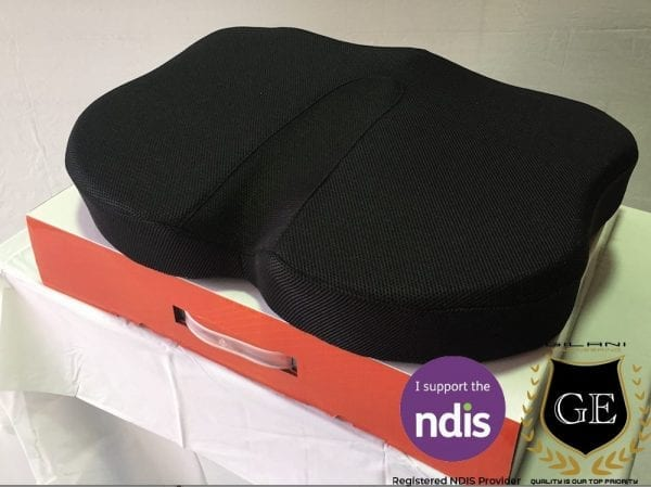 Memory foam Cushion Contoured Ergonomic for Car, Office and Wheelchair