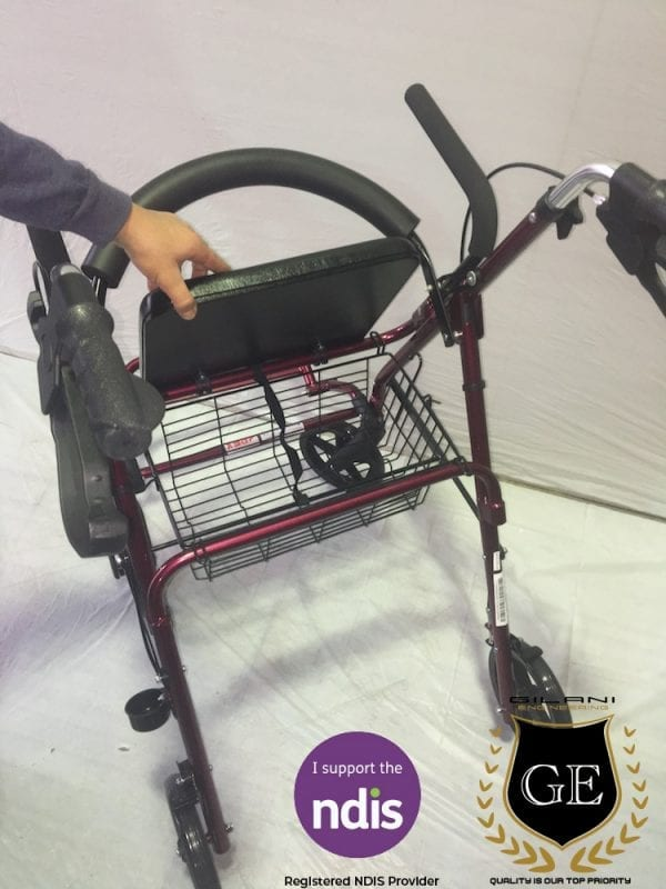 Practical & Durable Multipurpose Rollator