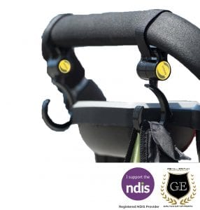 Practical Carry Hook For Wheelchairs and Mobility Scooters GE