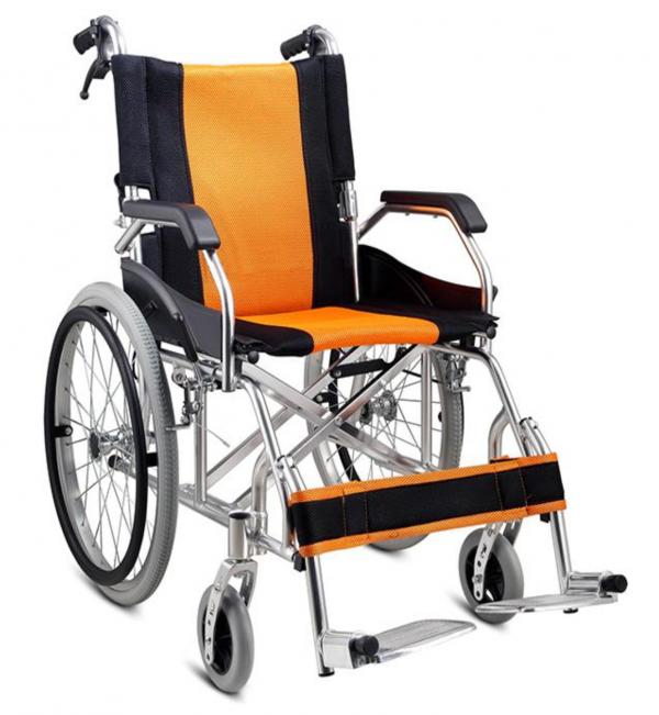 Compact Aluminium wheelchair Gilani Engineering foldable Manual Wheelchairs Australia