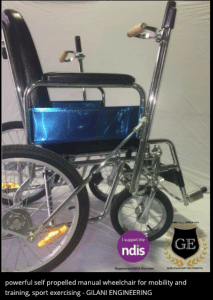 Powerful Self Propelled Manual Wheelchair for Mobility and Training Sport Exercising GILANI ENGINEERING