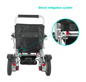 GED09 foldable lightweight heavy duty Wheelchair Gilani Engineering
