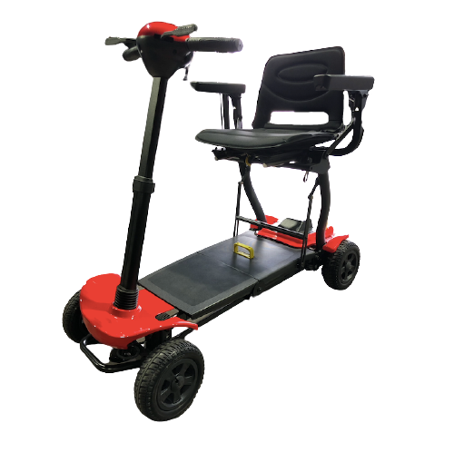 Automatic Folding Mobility Scooter With Remote Control For Travel GILANI ENGINEERING