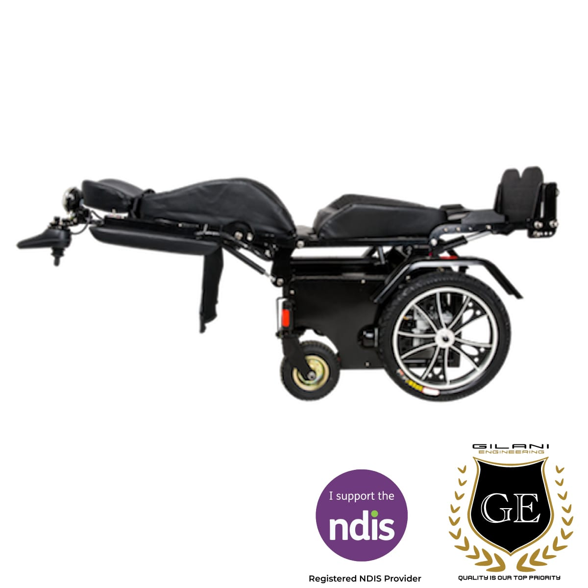 Standing Reclining Electric Heavy duty Wheelchair Stand Transformer 80Ah!