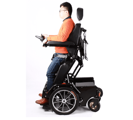 Standing Reclining Electric Heavy duty Wheelchair Stand Transformer of 80 Ah!