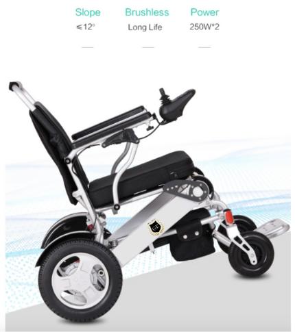 Aidacare GED09 foldable lightweight heavy duty Wheelchair Gilani Engineering