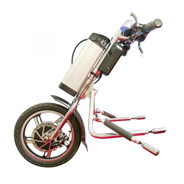 Electric Handcycle for Manual Wheelchairs