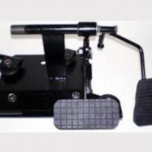 Dual Control Pedal Installation for Driving Instructor