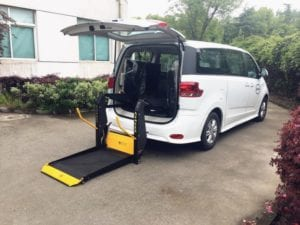 Hydraulic Accessible Wheelchair Lift hoist for vehicle How the Disability Industry can take Advantage of Vehicle Modification