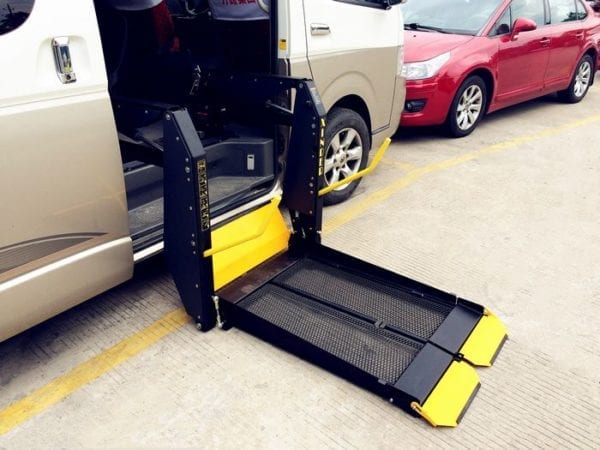 Hydraulic Accessible Wheelchair Lift hoist for vehicle GILANI ENGINEERINGssible Wheelchair Lift hoist for vehicle GILANI ENGINEERING
