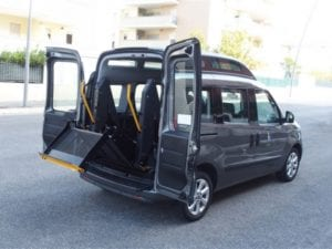 Hydraulic Accessible Wheelchair Lift hoist for vehicle modification GILANI ENGINEERING