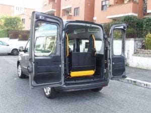 Hydraulic wheelchair Accessible wheelchair taxi GILANI ENGINEERING