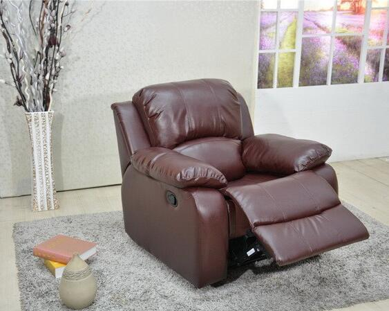 Accessible Recliner Sofa Leather Brown Gilani Engineering For Sale GILANI ENGINEERING