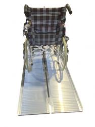 Disability Ramp Multipurpose Anti Slip Portable Wheelchair Ramp 150cm, 275kg capacity