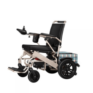 Heavy duty mobility wheelchair for everyday use comes with an optional shopping bag