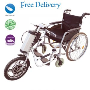 Attachable Electric Handcycle for Manual Wheelchairs for Sale