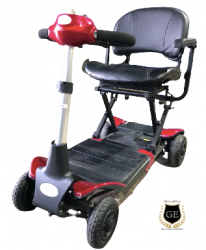 Auto Folding Electric Portable Scooter with PG Controller Heavy Duty Travel Aid GILANI ENGINEERING