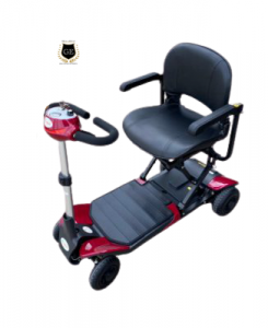 Auto Folding Electric Scooter with PG Controller Heavy Duty Travel Aid wheelchair GILANI ENGINEERING