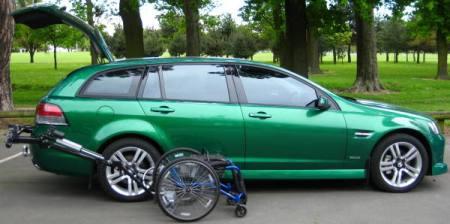 portable mobility wheelchair