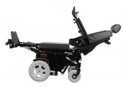 Zero Gravity Electric wheelchair with standing and relining features
