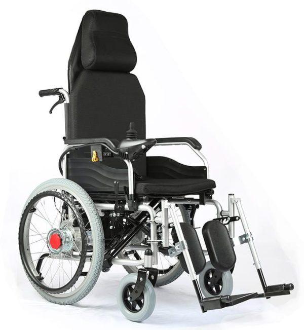 Recliner wheelchair foldable wheelchair