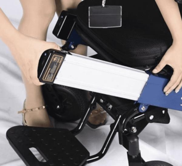 Wheelchair pocket