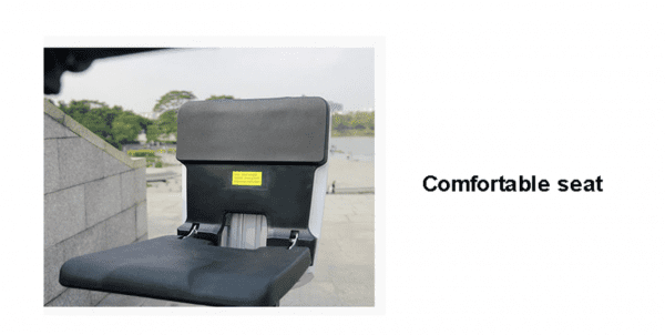 Comfortable scooter seat
