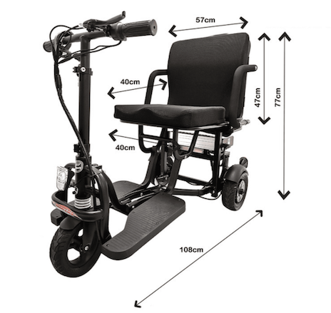 Powered Mobility light weight scooter for sale in Australia