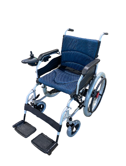 Electric Wheelchair with Manual Self Propelled Heavy Duty 125kg capacity