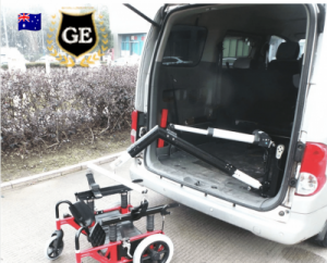 Boot Hoist Wheelchair Lift