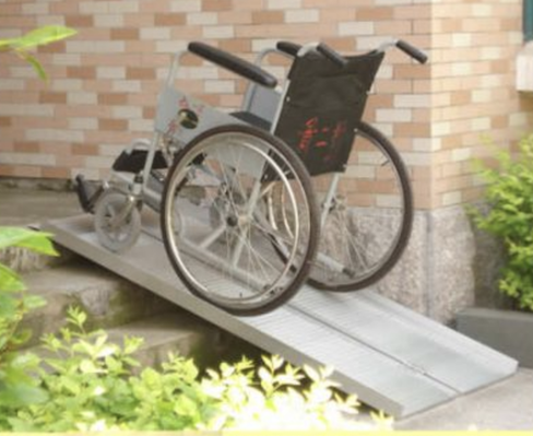 portable Lightweight Aluminium Ramp for Disability Free shipping