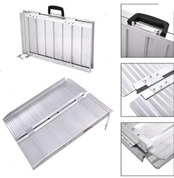 Portable Ramps Aluminium free delivery
