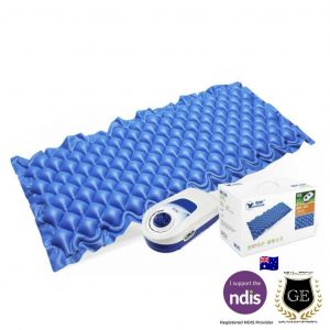 Overlay Air Mattress with a Pump