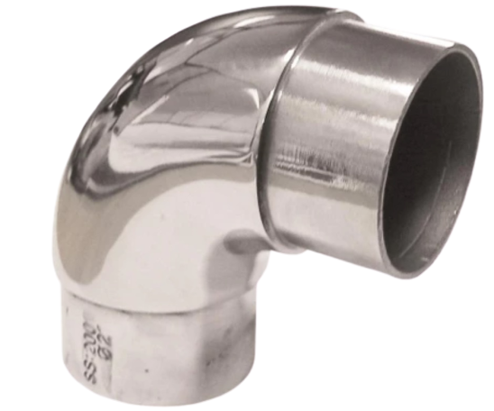 90 degree pipe fitting grabrail in Sydney
