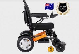 GED10 Electric Folding Wheelchair