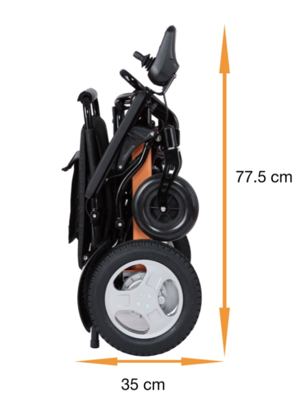 Electric Mobility Wheelchair size