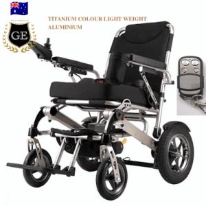 Auto Folding Wheelchair