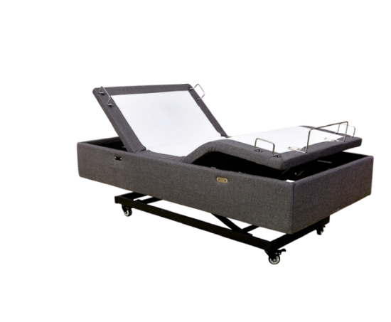 adjustable mattress with lift and wheels