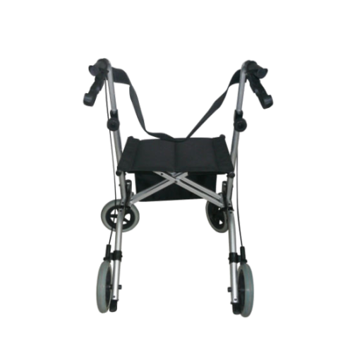lightweight walker with wheels and seat