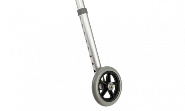 adjustable leg with PU castor wheel