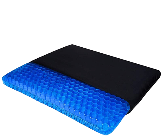 Gel cushions with cover