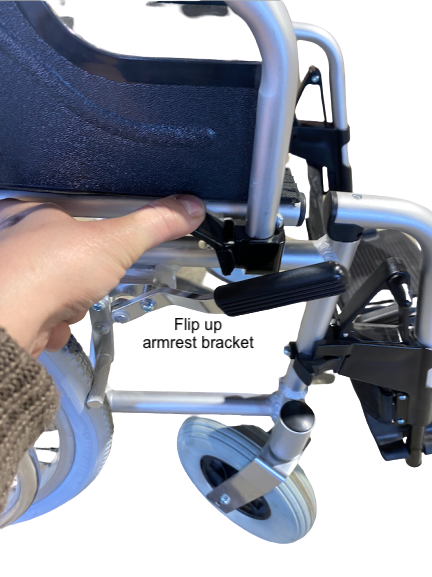 manual electric wheelchair